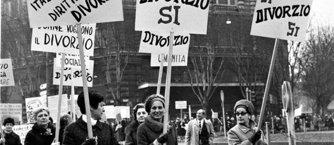 """Divorzio, 50 anni fa la legge che diede il via libera. """"Gli anni '70 stagione effervescente per l'avanzamento dei diritti civili"""""""