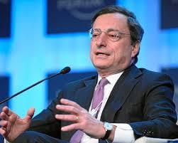 Ritratto di Mario Draghi