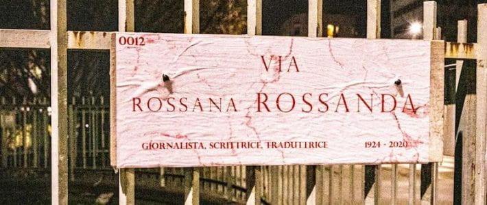 Quante sono le strade intitolate a donne in Italia