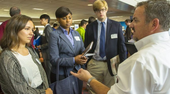 2014 Business Career Fair A Success