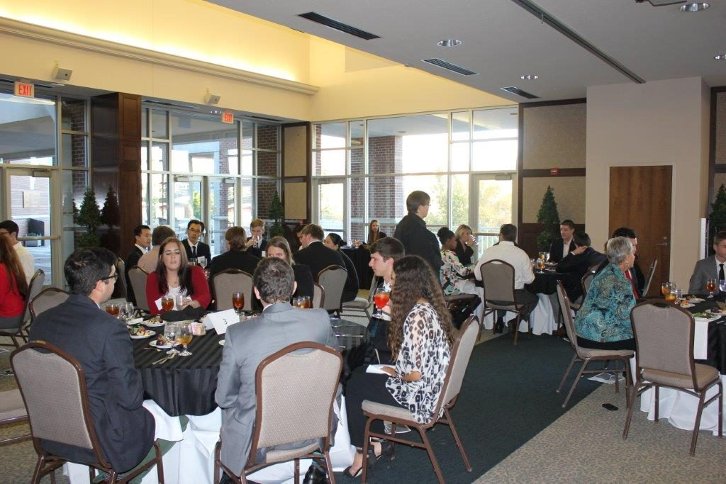 Walton Students Learn Social, Dining Etiquette