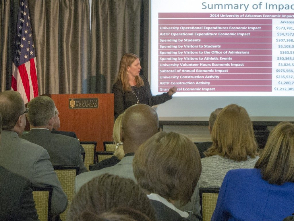 University's Impact on Arkansas Economy $1.2 Billion