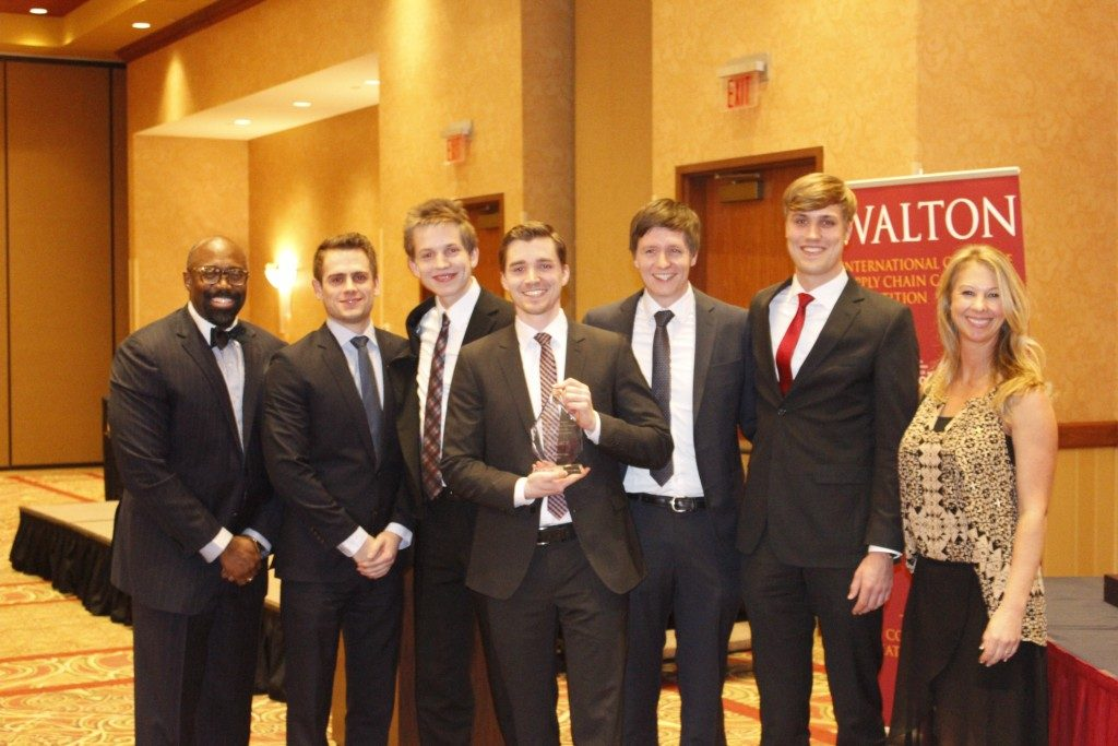 Teams Compete in International Supply Chain Case Competition