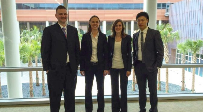 Walton MBA Students Compete at SEC Case Competition