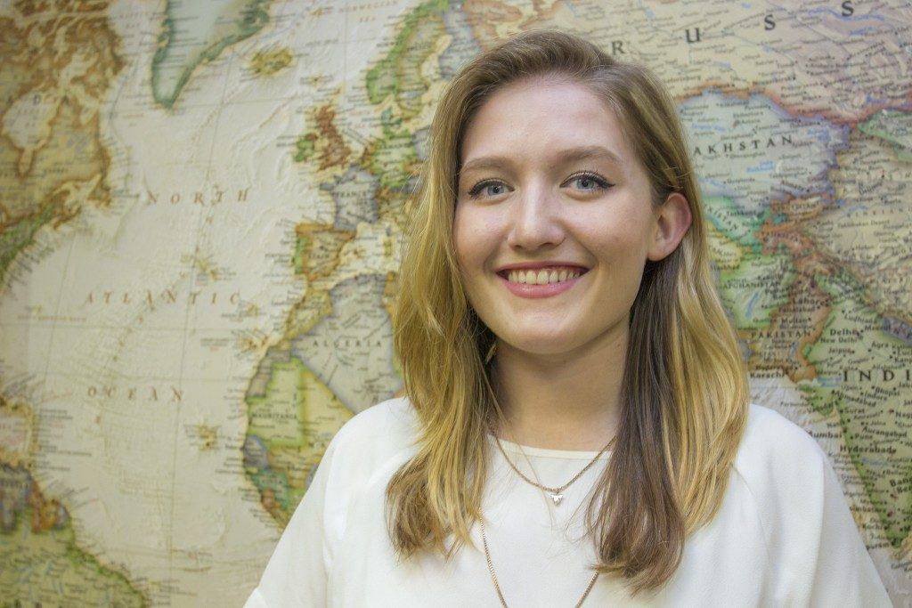 Pulliam Named First Recipient of the Joseph A. Ziegler Study Abroad Award