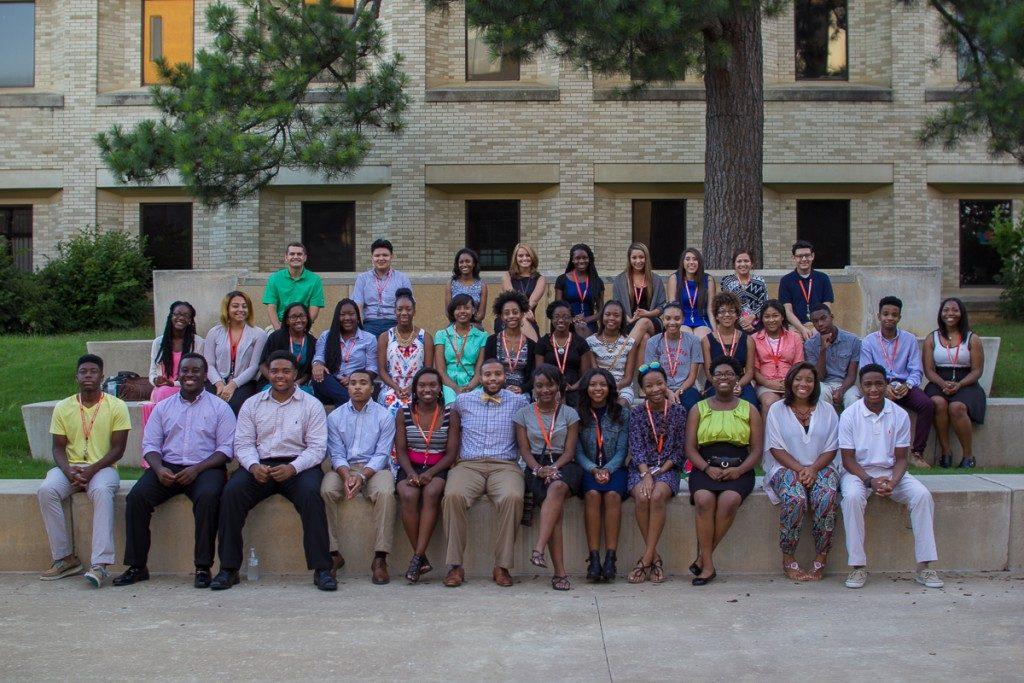 Teen Scholars Get in the College Spirit