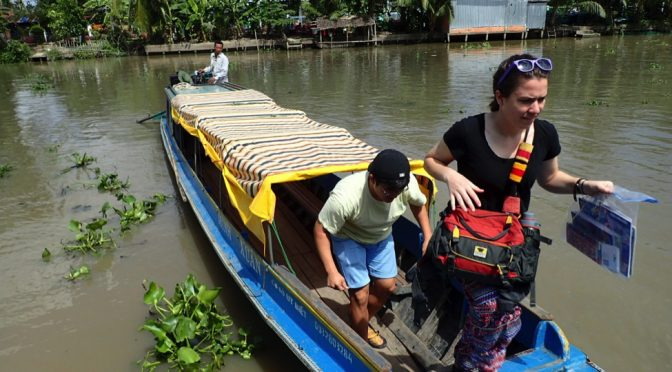 Students Learn about Life in the Mekong Delta