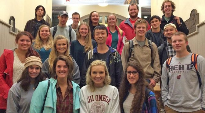 U of A Students Prepare to Spend Spring Semester Overseas at Partner Universities
