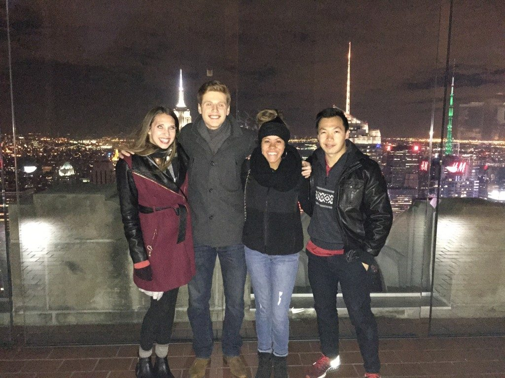 Walton Students Participate in Retail Conference in New York