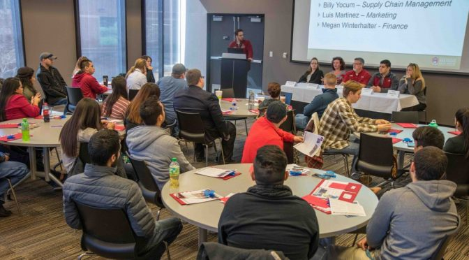 Community College Students Visit for Walton Transfer Day