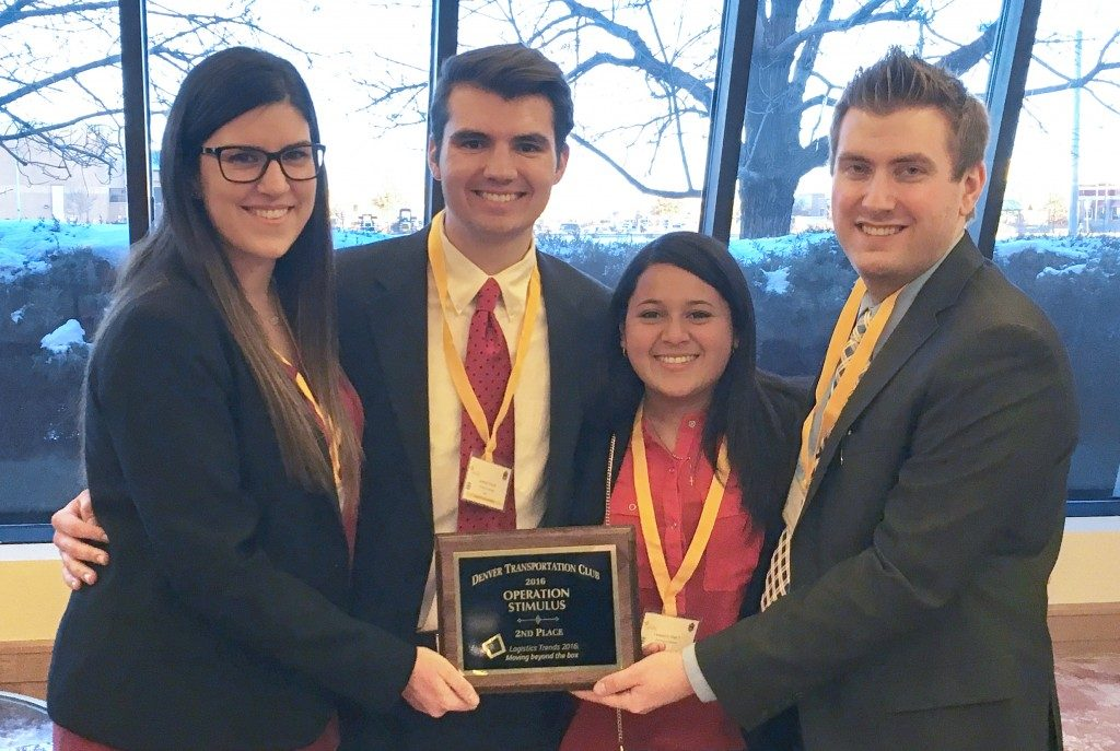 Walton Students Place Second in Denver Supply Chain Case Competition