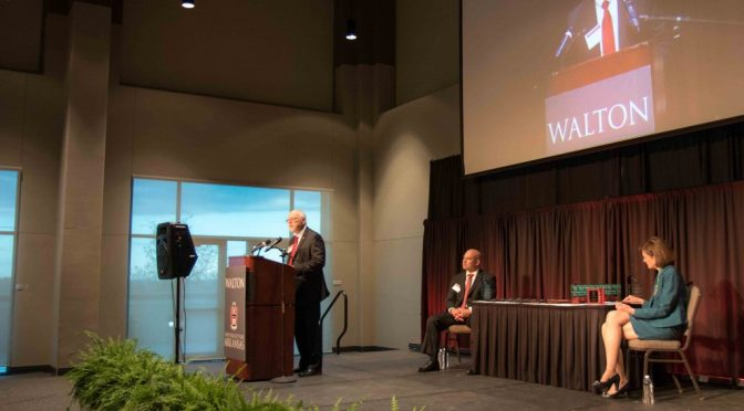 Walton Awards Banquet Recognizes Alumni, Student Achievement
