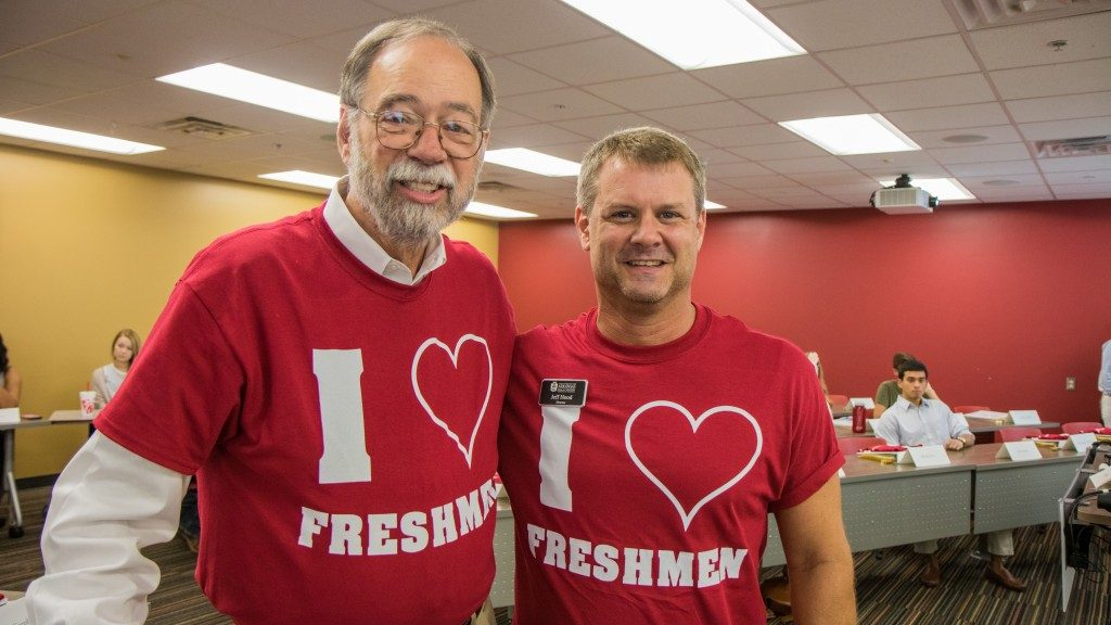 Instructors Ready for Business Freshmen