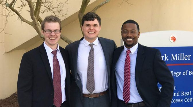 Entrepreneurship Team Wins Georgia Bowl Competition