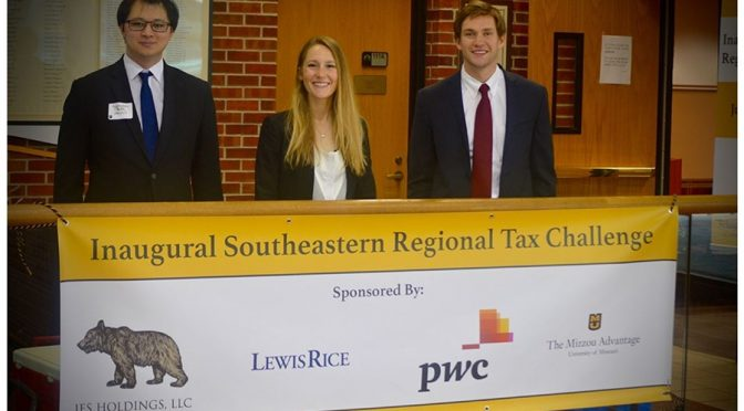 MAcc Student Team Reaches Final Four in Tax Case Competition