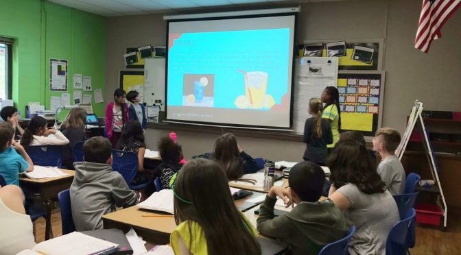 Leadership Walton Students Use Lemonade Stands to Teach Entrepreneurship
