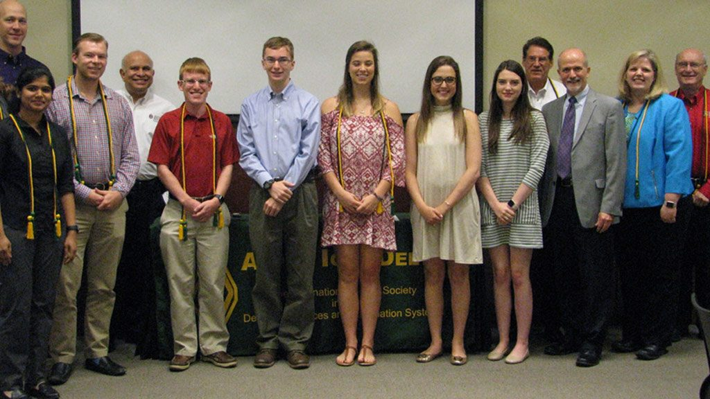 Information Systems Honor Society Inducts Members