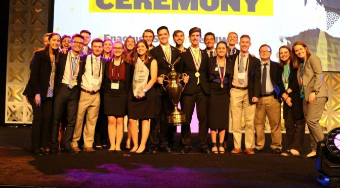 Students Attend 2017 Enactus National Competition