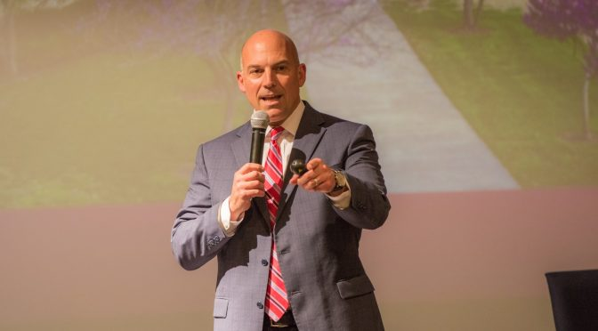 Dean Waller Holds Student Town Hall on Sept. 20