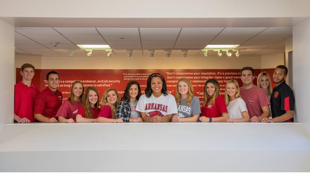 Students Serve as 2017-18 Walton Ambassadors