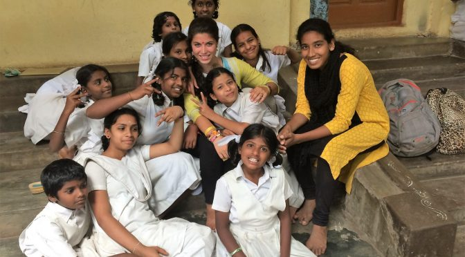 Going Global – Interning in India