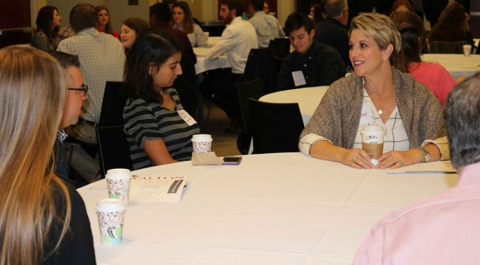 Corporate leaders mentor Walton honors students through the Center for Retailing Excellence's Mentoring Circle program.