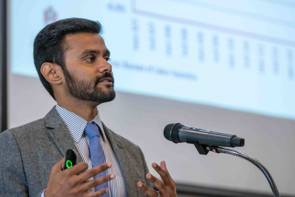 Jebaraj Named Director of Center for Business and Economic Research