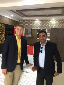 Grayson Greer and Gopinath L. (preferred name), the CEO of United Traders, a company in Bangalore, India. Gopinath brokers trade deals between Indian companies and the West; the two discussed business opportunities in emerging economies such as India's, as well as strategies for market entry into the U.S.