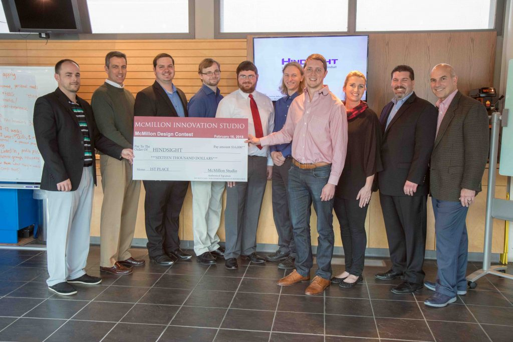 Hindsight Team Wins McMillon Innovation Studio Design Contest