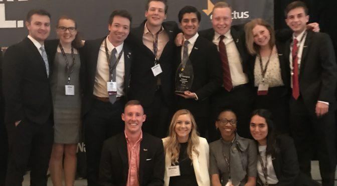 University of Arkansas Enactus Team Named Regional Champs