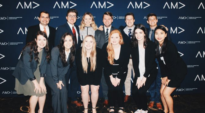 U of A Chapter Takes A Third Place at AMA International Collegiate Conference