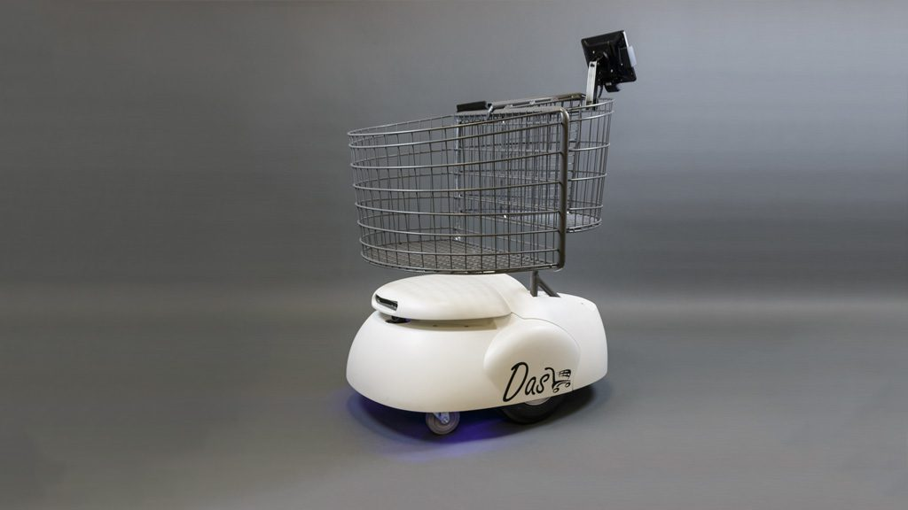 Students Help Develop App for 'Dash' Robotic Shopping Cart