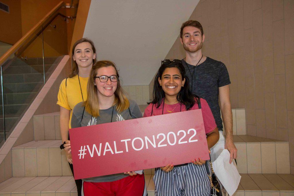 2018 Walton College freshman orientation