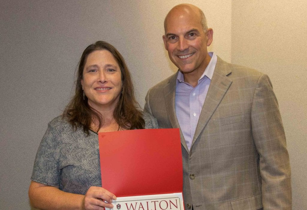 Heinzel Named Walton College Employee of the Quarter