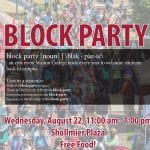 Walton Welcomes Students to Campus with Block Party (and Free Food) Wednesday, August 22 featured image
