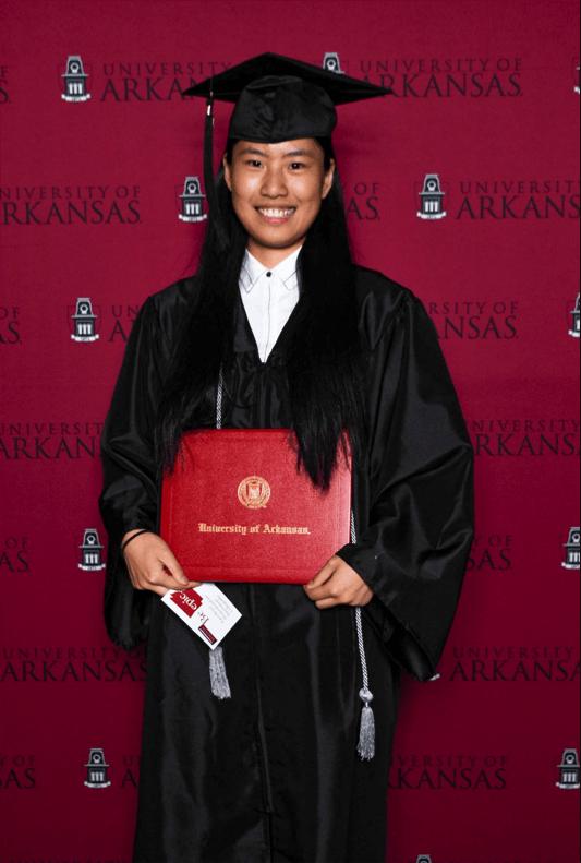 Lingyun Zhang, Walton College alumna