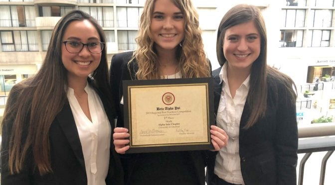 Walton College Team Takes Top Spot at Regional Business Competition