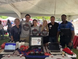 ROAR created awareness and recruited new members by participating in Walton College's Block Party in August.
