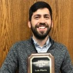 Marín Named Tutor of the Year by Regional Writing Centers Association featured image