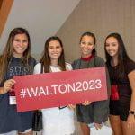 Walton College freshmen at 2019 orientation.