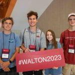 Walton College #walton2023 orientation students