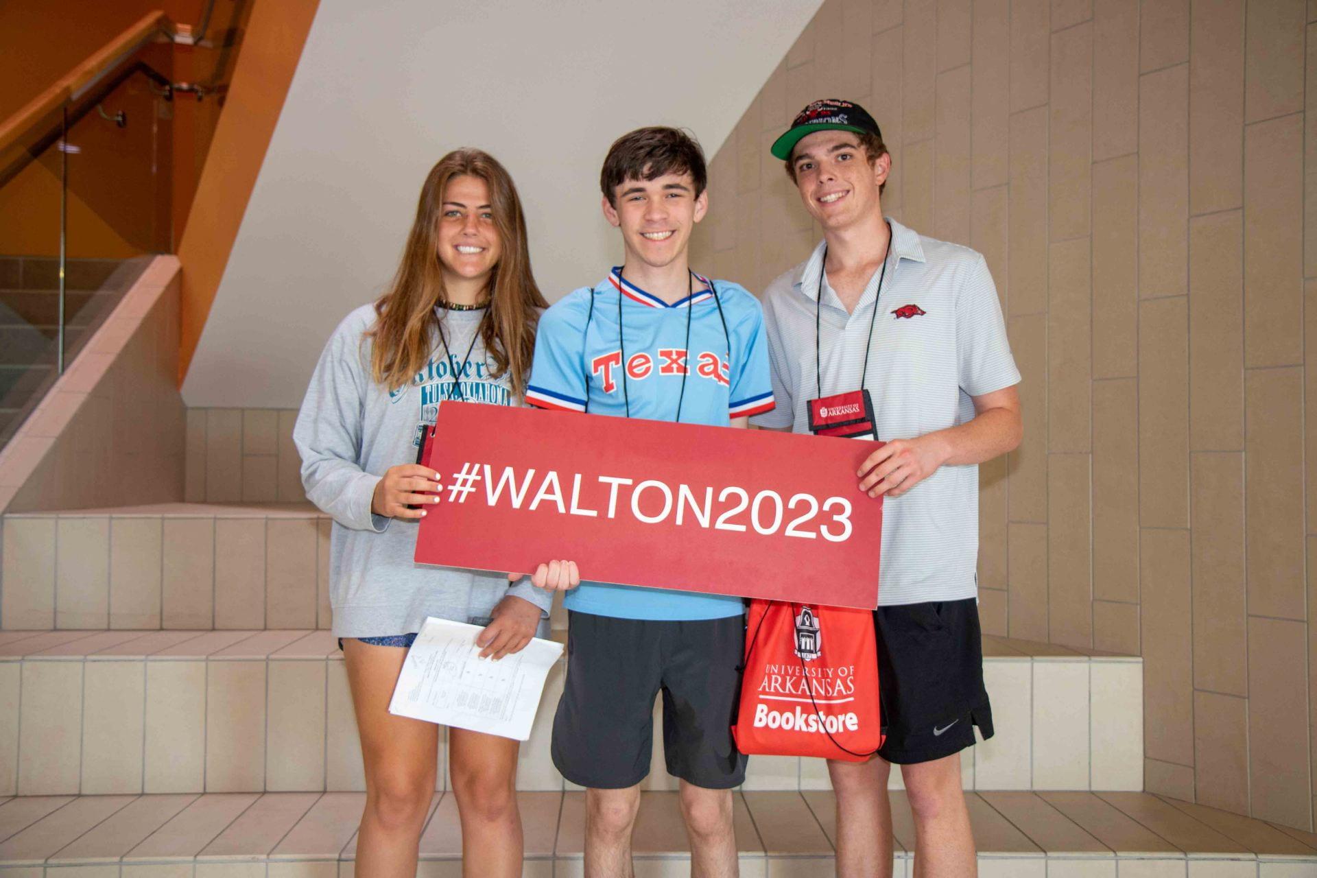 Walton College #walton2023 students