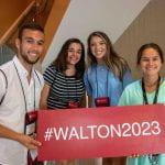 Walton College orientation students 2019