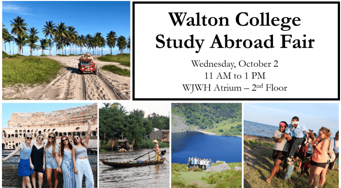 Five Reasons to Study Abroad