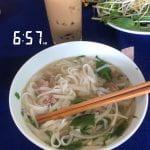 Walton College Vietnam study abroad: breakfast