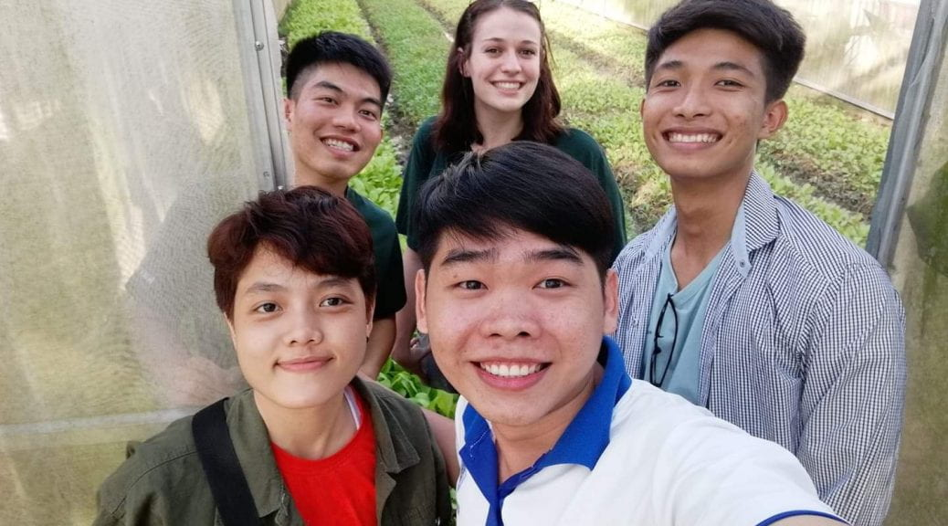 Walton College study abroad in Vietnam w Nethouses