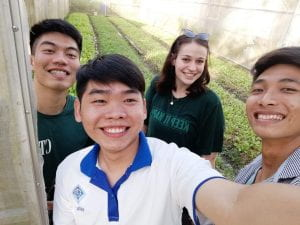 Walton College study abroad in Vietnam w Nethouses2