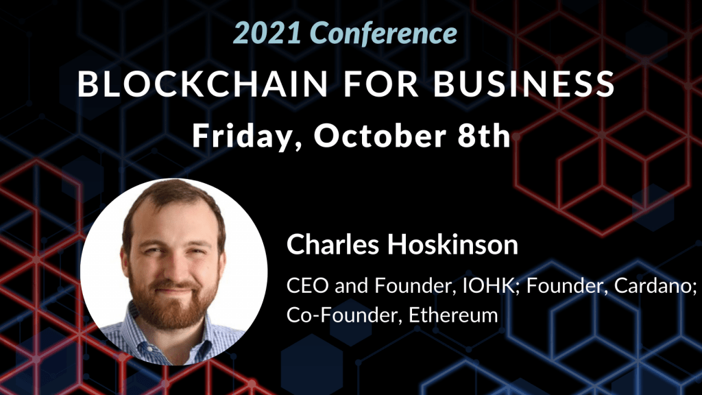 Charles Hoskinson to Serve as Keynote for Blockchain Conference
