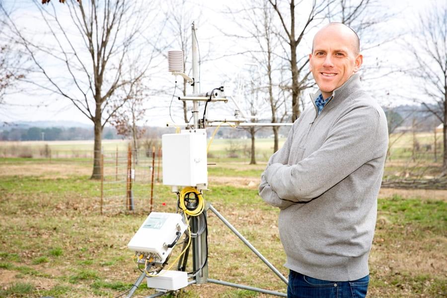 U of A Professor Benjamin Runkle Helps to Improve Climate Change Models