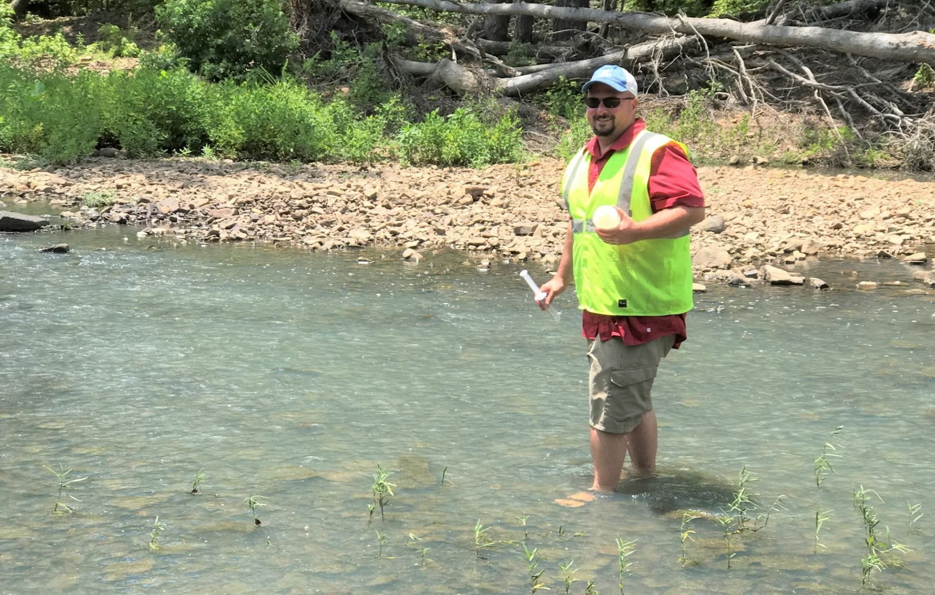 Water Chemistry during Baseflow Helps Inform Watershed Management